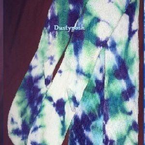 5d44e571a American Apparel Accessories - American Apparel Thigh High Socks Tie-Dye  Punk OTK